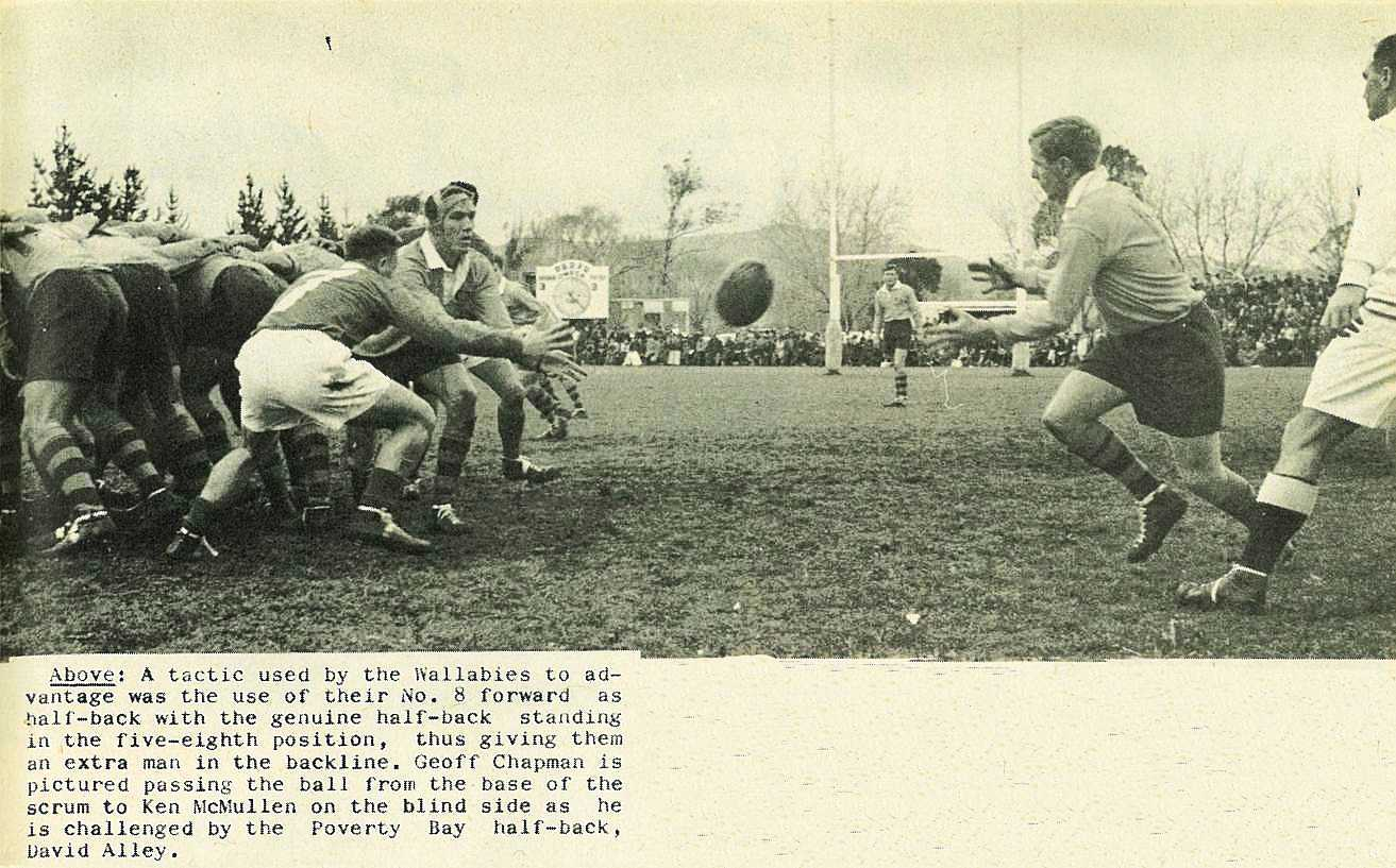 Wallabies' Tour Debut Victory Over Poverty Bay - Gisborne Photo ...